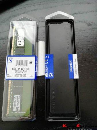 Pamięć serwerowa Kingston 16GB DDR4-2133MHz ECC (KTD-PE421/16G)